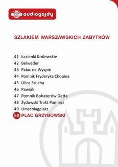 Chomikuj, ebook online Plac Grzybowski. Szlakiem warszawskich zabytków. Ewa Chęć