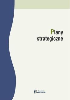 Chomikuj, ebook online Plany strategiczne. Elżbieta Marciniak