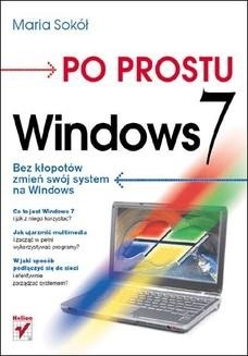 Chomikuj, ebook online Po prostu Windows 7. Maria Sokół
