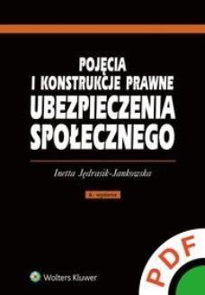 Ebook Pojęcia i konstrukcje prawne ubezpieczenia społecznego pdf