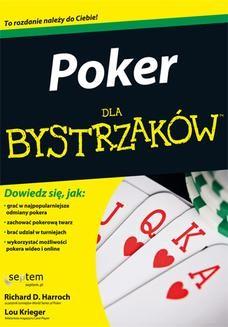 Chomikuj, ebook online Poker dla bystrzaków. Richard D. Harroch