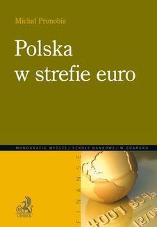 Chomikuj, ebook online Polska w strefie euro. Michał Pronobis