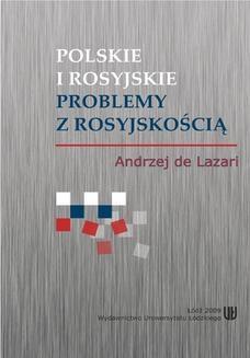 Ebook Polskie i rosyjskie problemy z rosyjskością pdf