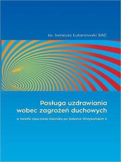 Ebook Posługa uzdrawiania wobec zagrożeń duchowych pdf