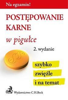 Chomikuj, ebook online Postępowanie karne w pigułce. Wydanie 2. Aneta Gacka-Asiewicz