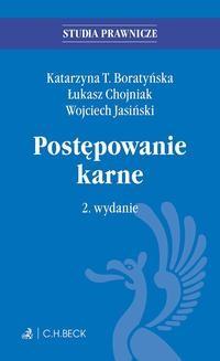 Ebook Postępowanie karne. Wydanie 2 pdf