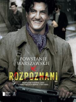 Chomikuj, ebook online Powstanie Warszawskie. Rozpoznani. Iza Michalewicz