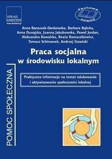 Chomikuj, ebook online Praca socjalna w środowisku lokalnym. Zespół autorów