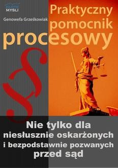Ebook Praktyczny pomocnik procesowy pdf