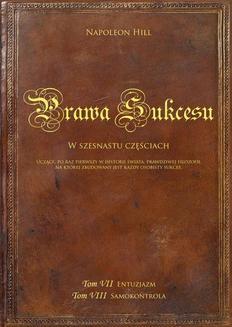 Chomikuj, ebook online Prawa sukcesu. Tom VII i Tom VIII. Napoleon Hill