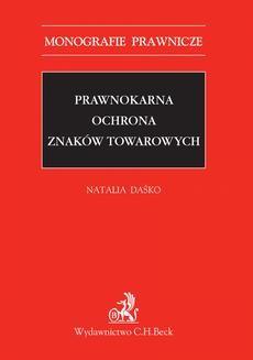 Ebook Prawnokarna ochrona znaków towarowych pdf