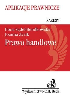 Chomikuj, ebook online Prawo handlowe. Kazusy. Ilona Sądel-Bendkowska