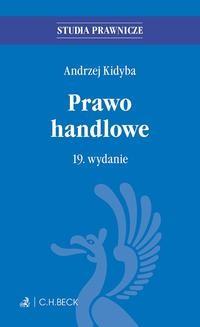 Ebook Prawo handlowe. Wydanie 19 pdf