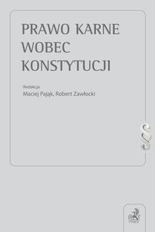 Chomikuj, ebook online Prawo karne wobec Konstytucji. Opracowanie zbiorowe null