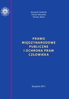 Ebook Prawo międzynarodowe publiczne i ochrona praw człowieka. Skrypt dla policjantów pdf
