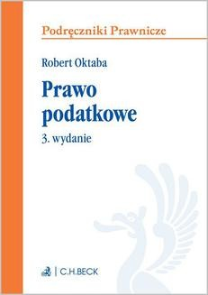 Ebook Prawo podatkowe. Wydanie 3 pdf