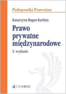 Ebook Prawo prywatne międzynarodowe. Wydanie 5 pdf