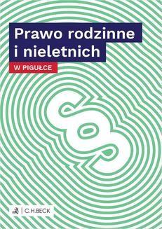 Chomikuj, ebook online Prawo rodzinne i nieletnich w pigułce. Wioletta Żelazowska