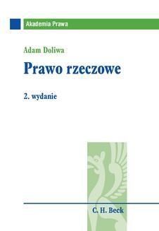 Chomikuj, ebook online Prawo rzeczowe. Adam Doliwa
