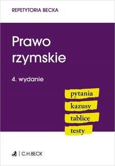 Chomikuj, ebook online Prawo rzymskie. Pytania. Kazusy. Tablice. Testy. Wioletta Żelazowska