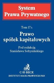 Chomikuj, ebook online Prawo spółek kapitałowych. Tom 17A. Michał Romanowski