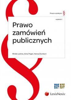 Chomikuj, ebook online Prawo zamówień publicznych. Wydanie 1. Mirella Lechna