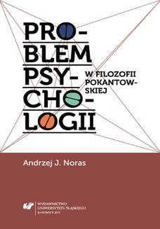 Ebook Problem psychologii w filozofii pokantowskiej pdf