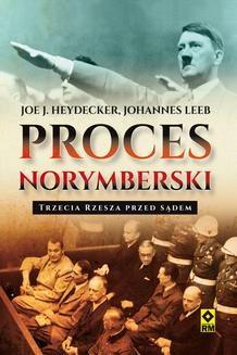 Ebook Proces norymberski. Trzecia Rzesza przed sądem pdf