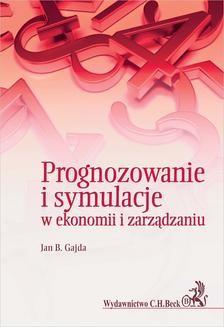 Ebook Prognozowanie i symulacje w ekonomii i zarządzaniu pdf