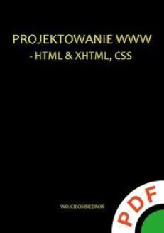 Ebook Projektowanie WWW – HTML XHTML, CSS pdf