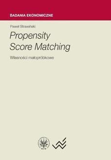 Chomikuj, ebook online Propensity Score Matching. Paweł Strawiński