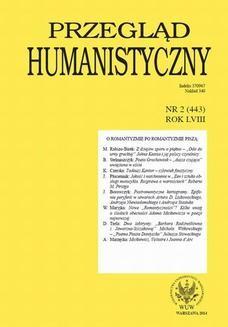 Chomikuj, ebook online Przegląd Humanistyczny 2014/2 (443). Michał Kuziak