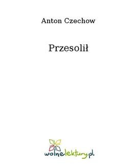 Ebook Przesolił pdf