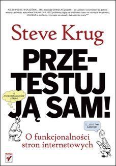 Chomikuj, ebook online Przetestuj ją sam! Steve Krug o funkcjonalności stron internetowych. Steve Krug