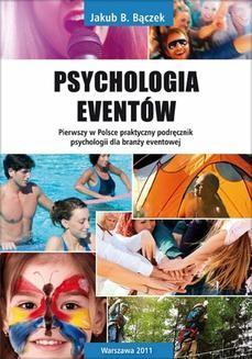 Chomikuj, ebook online Psychologia eventów. Jakub B. Bączek