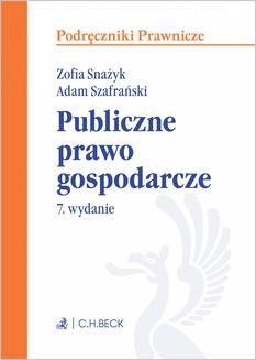 Ebook Publiczne prawo gospodarcze. Wydanie 7 pdf