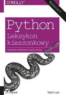 Ebook Python. Leksykon kieszonkowy. Wydanie V pdf