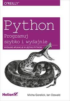 Ebook Python. Programuj szybko i wydajnie pdf