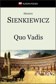 Chomikuj, ebook online Quo Vadis. Henryk Sienkiewicz