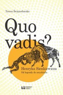 Chomikuj, ebook online Quo vadis? Henryka Sienkiewicza. Teresa Świętosławska