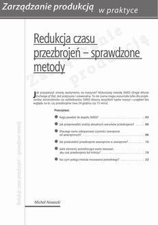 Chomikuj, ebook online Redukcja czasu przezbrojeń – sprawdzone metody. Michał Nowacki