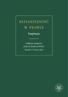 Ebook Refleksyjność w prawie. Inspiracje pdf
