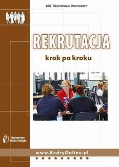 Chomikuj, ebook online Rekrutacja krok po kroku. Iwona Jaroszewska-Ignatowska