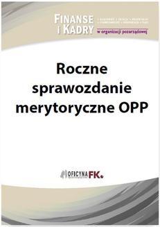 Chomikuj, ebook online Roczne sprawozdanie merytoryczne OPP. Sławomir Liżewski