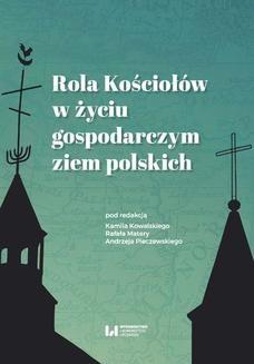 Ebook Rola Kościołów w życiu gospodarczym ziem polskich pdf