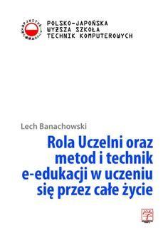 Ebook Rola Uczelni oraz metod i technik e-edukacji w uczeniu się przez całe życie pdf