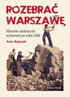 Ebook Rozebrać Warszawę pdf