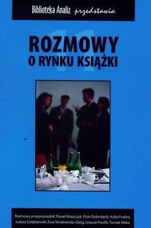 Chomikuj, ebook online Rozmowy o rynku książki. Tom 11. Praca zbiorowa