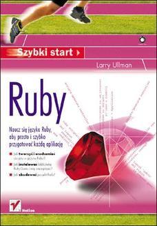 Chomikuj, ebook online Ruby. Szybki start. Larry Ullman