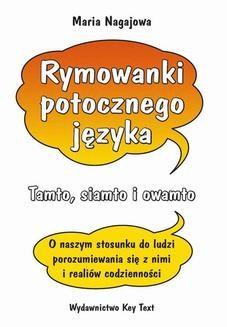 Ebook Rymowanki potocznego języka pdf